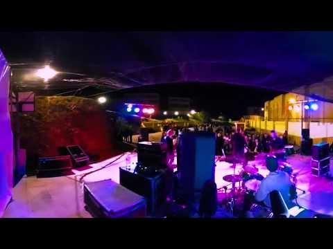 Grupo musical Bone Machines en el Festival Ampatízate en directo/360º