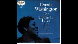 """ Easy Living "" Dinah Washington"