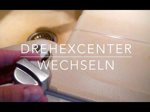 Spülbecken Drehknopf wechseln ( Drehexcenter Ablauf ) Anleitung