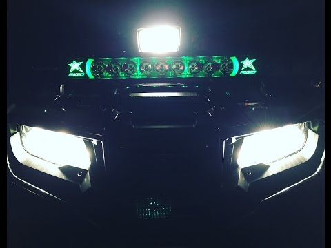 Search result youtube video radiancelightbar rigid industries radiance four wheeler install and demo 2016 honda foreman aloadofball Images