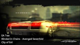 NFS Most Wanted OST: Blinded In Chains - Avenged Sevenfold