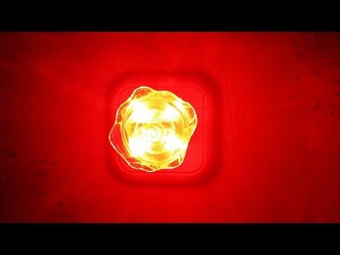 Светодиодный ночник, светильник или ночная лампа в форме розы 220В (aliexpress)