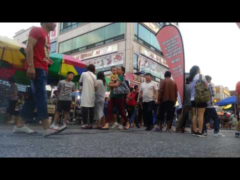 Video Ansan cultural market (indonesia town di korea selatan)
