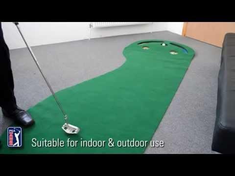 PGA Tour 3 Inch x 9 Inch Golf Putting Mat