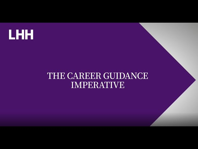 The Career Guidance Imperative