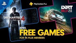 PlayStation Plus - Free Games Lineup April 2020   PS4