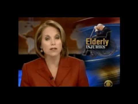 Katie Couric discusses the danger to Seniors of fall-related in injuries