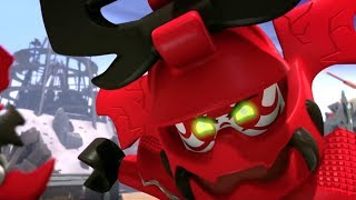 "LEGO Ninjago Villains Throwback Compilation (2016) Museum of History Doctor Sanders ""Bad Guys"" Tour"