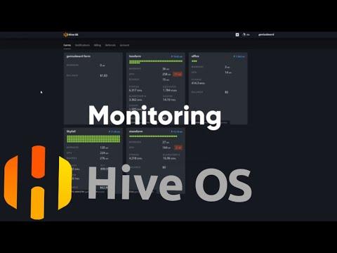 Мониторинг в Hive OS