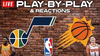 Utah Jazz vs Phoenix Suns   Live Play-By-Play & Reactions
