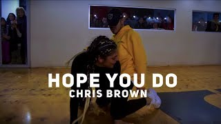 HOPE YOU DO  || CHRIS BROWN  || CHOREOGRAPHY  SEBA CARREÑO