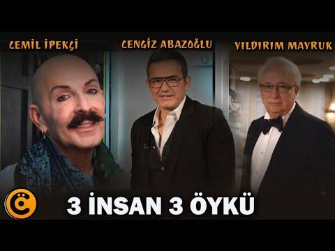 """Cemil İpekçi-Cengiz Abazoğlu-Yıldırım Mayruk """"3 İnsan 3 Öykü"""" Belgeseli"""