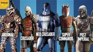 The Evolution of the MANDALORIANS