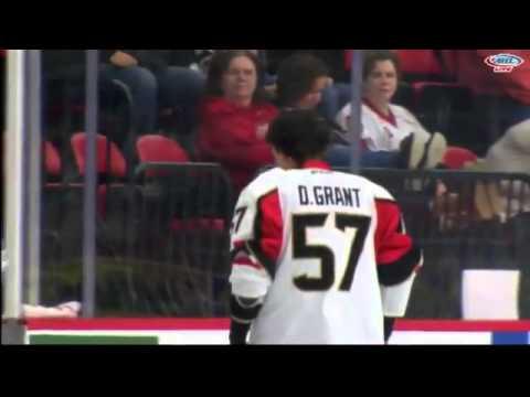Derek Grant vs. Mike Blunden