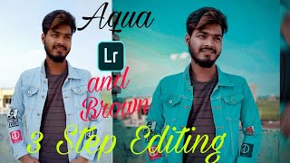 How To Edit AQUA & BROWN Photo Editing   Lightroom Editing   Editing Boys