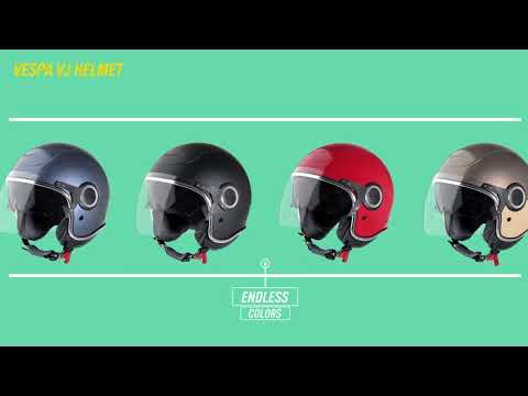 VIDEO CASCOS VESPA 2017