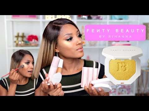 Hell NAHHH! Rihanna SNATCHING Edges?! Fenty Beauty First Impressions + GIVEAWAY!