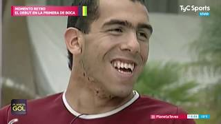 Debut de Tevez en Boca Juniors - Momento Retro Planeta Gol - #PlanetaTevez