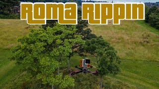 Diatone Roma StanFpv 2604 1690kv ethix candy cane props ripping fpv freestyle between the UK storms
