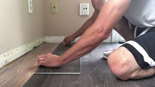 How To Cut Vinyl Plank Flooring lengthwise