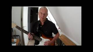 "Uffe Steen: Tutorial Of My Version Of ""Born To Be Blue"" For Solo Guitar"