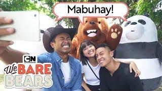We Bare Bears | Loose In Manila! 🇵🇭| Feat. Rei Germar, Bogart The Explorer, Migy Romulo
