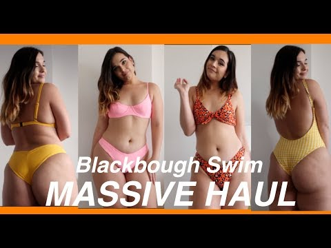 HUGE BIKINI TRY ON HAUL! | Blackbough Swim Review Summer 2018