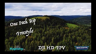 Short one pack rip until I crash into a tree! ???????? - DJI HD FPV Freestyle