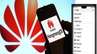 اول هاتف من هواوي بنظام التشغيل الجديد هونج مينج | Hongmeng OS واول صور مسربة للنظام
