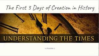 (#15 5980) The First 3 Days of Creation in History