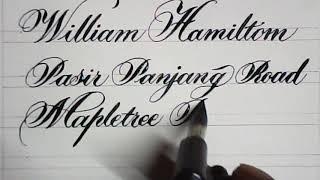 Beautiful Writing On Invitation Cards | Calligraphy | Mazic Writer