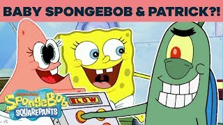 SpongeBob & Patrick As Babies?! | #TBT