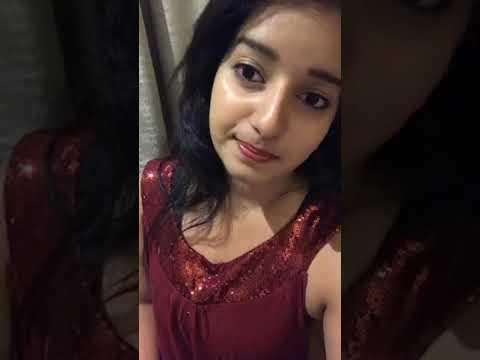 Malavika menon Facebook Live In Night Dress (10/11/17)
