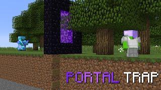 nether portal trap