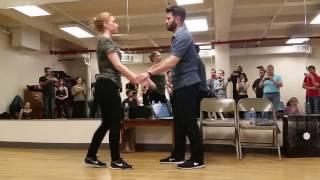 Ben Moris & Victoria Henk Musicality Workshop On NYC