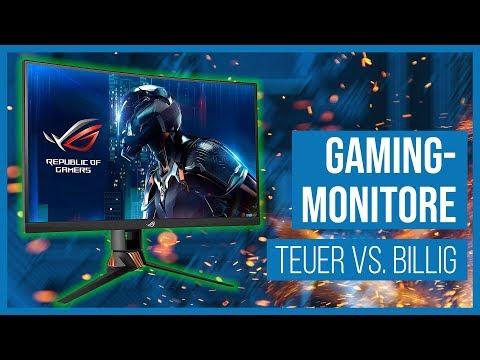Lohnen sich Profi-Gaming-Monitore? Mit Verlosung!! Teuer vs. Billig #Gaming-PC