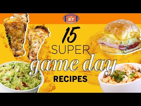 15 Super Recipes for Game Day   Football Game Menu   Allrecipes.com