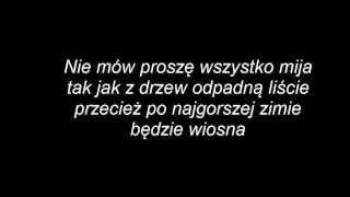 Imię deszczu - Mafia (tekst)