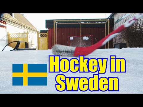 Hockey In Sweden - By BauerYT