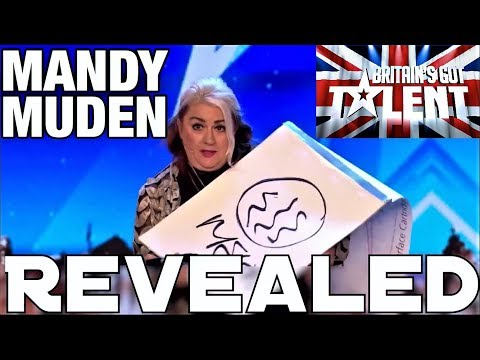 REVEALED - Mandy Muden's BGT Audition Magic Trick! (видео)