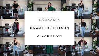 10 Items, 8 Looks   Outfit Packing Tips For A Carry On   Aja Dang