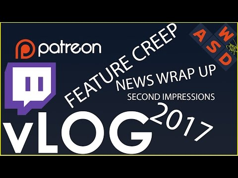 VLOG - 2017 Changes - No More Ads On Feature Creep! | Tarmack
