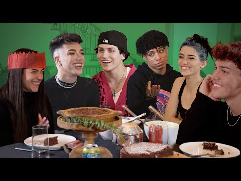 Christmas Dinner with My Best Friends ft. Charli, Dixie, Noah, James & Larray | Chase Hudson