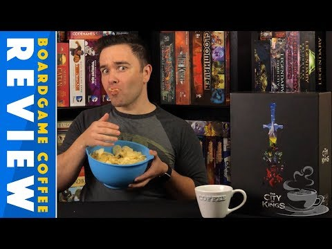 The City of Kings Review with BoardGame Coffee