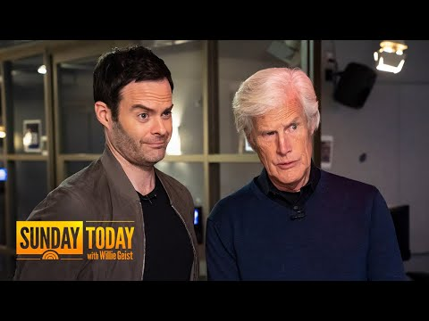 Bill Hader Meet His Idol, Dateline's Keith Morrison.