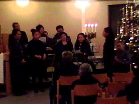 Vocalgroup Immanuel op kerstavond