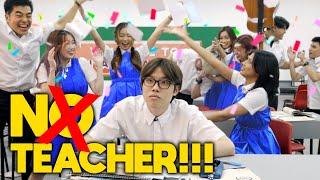 12 Types of Students when the Teacher is GONE