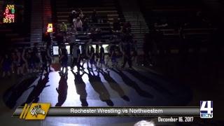 Rochester Wrestling vs Northwestern
