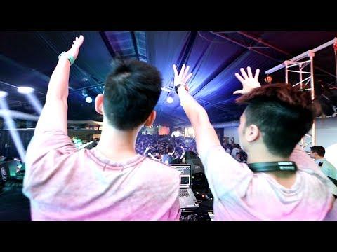 ♫ Set nhạc của 2 DJ Việt Nam trong show diễn của Steve Aoki ( DJ hạng 8 thế giới) ♫