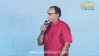 Saindhavi and Nassar at Saivam Audio Launch